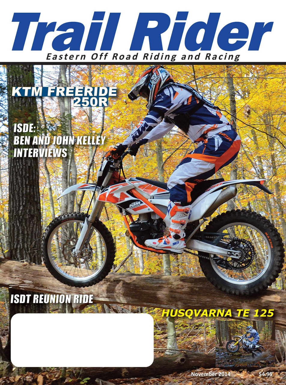Interviews with Ben & John Kelley in November Trail Rider