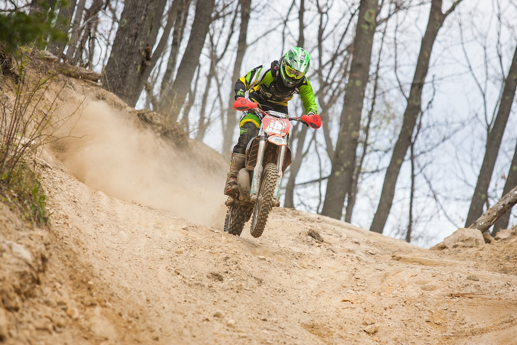 Ben Kelley 2nd place E2 2015 AMA ISDE Qualifier - Photo by Andrew Fredrickson