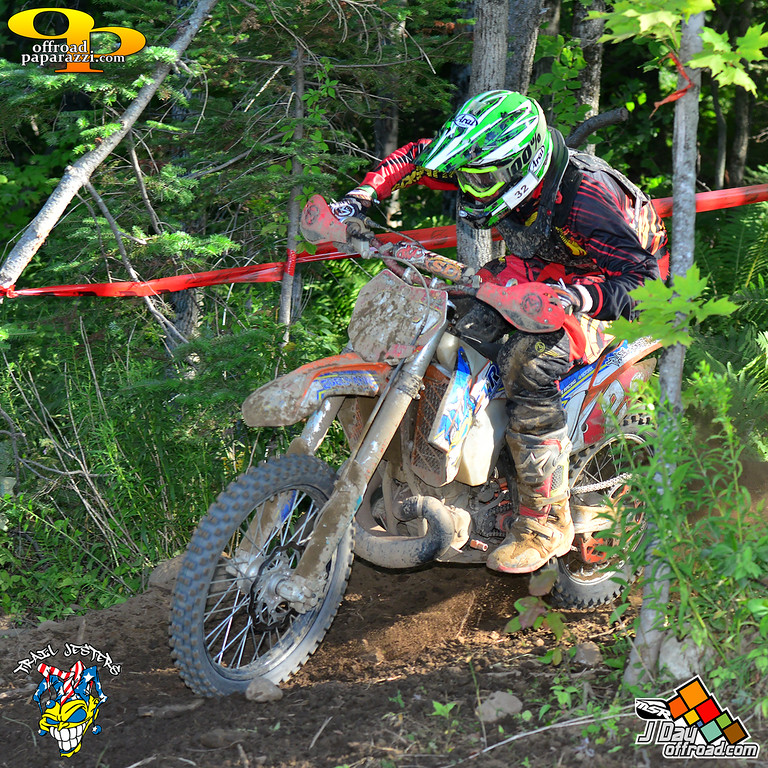 Ben Kelley 1st overall J Day Sprint Enduro round 4 (photo by Art Pepin)