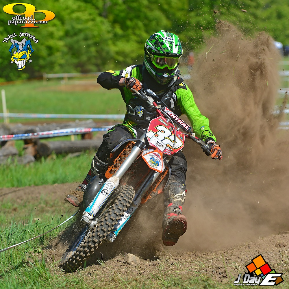 Ben Kelley goes three in a row at round 4 JDay Sprint Enduro - photo by Art Pepin