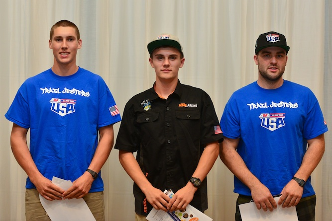Ben, Josh & John introduced at the AMA full team meeting (photo by Art Pepin)
