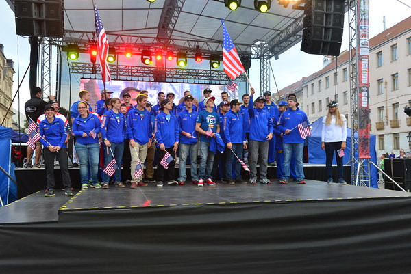 Opening ceremony 2015 FIM ISDE - photo by Art Pepin