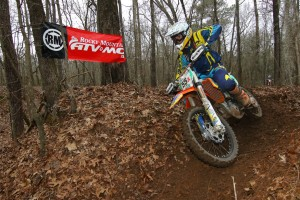 Josh Toth took 12th OA at AMA National Enduro rd 1 in Sumter, SC. (photo by Kenneth King)