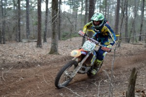 Ben Kelley 6th place XC2 GNCC rd 2 (photo by Leanne Dutlinger)
