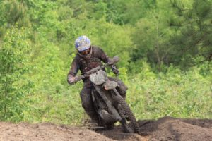 Ben Kelley 4th XC2 & 9th Overall at Camp Coker GNCC round 5.