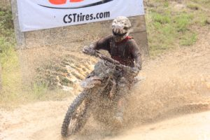 Josh Toth 8th XC2 & 16th OA at Camp Coker GNCC round 5.